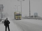 Катастрофа между ТИР и камион блокира път Е-79