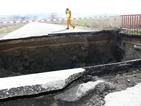 Мост се срути в Шуменско, повлече кола