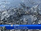 300 л. моторно масло в бургаското езеро Вая