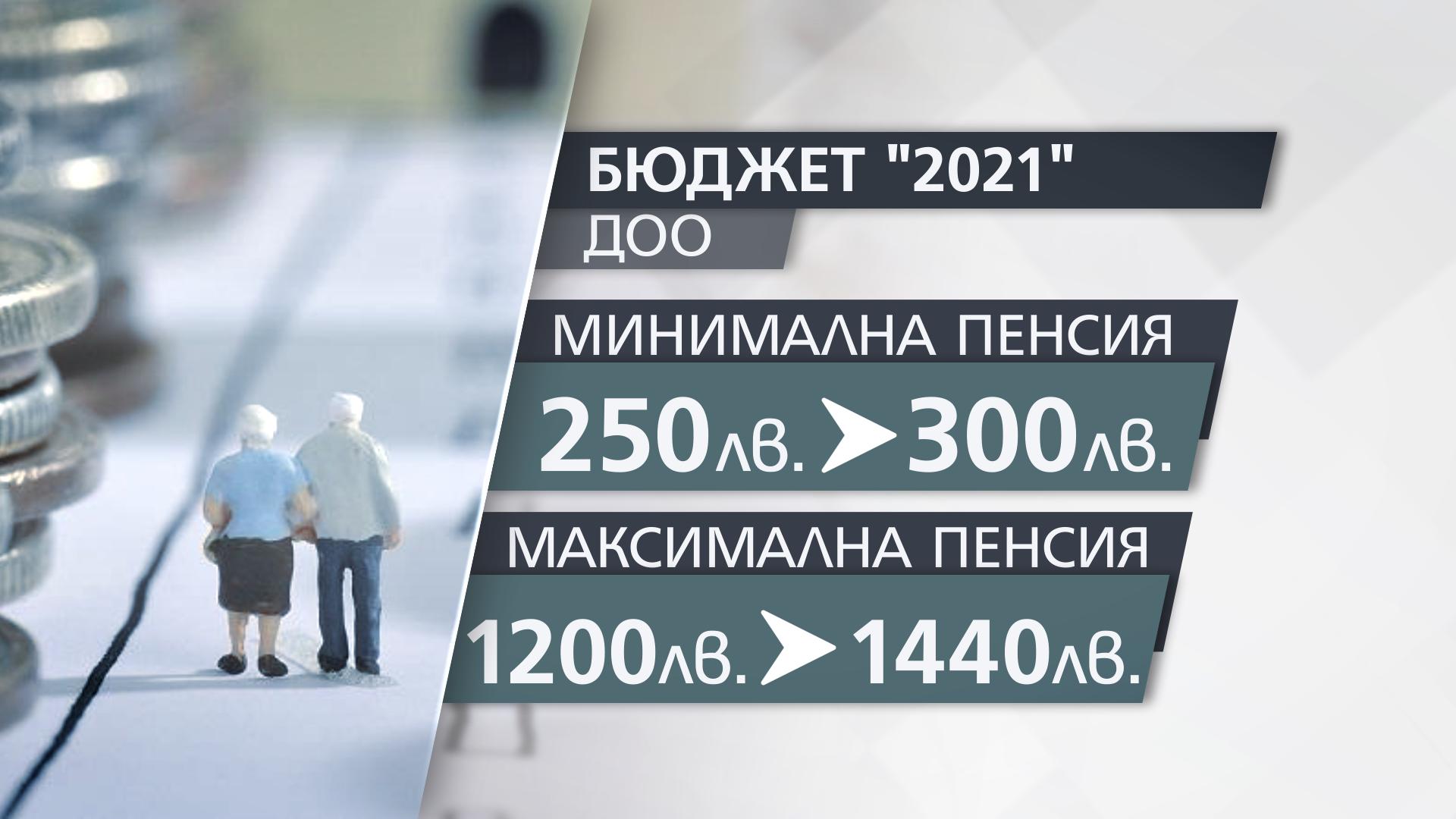 Синдикати и работодатели искат поне 1600 лева максимална пенсия