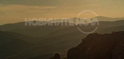 Залез над Сливенския Балкан