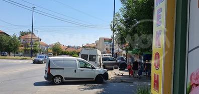 Безобразно спиране на тротоар