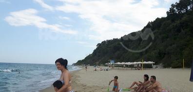 Спасител пъдар на плажа
