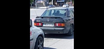 Кола без фарове в Пловдив