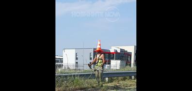 Почистване на тревни площи
