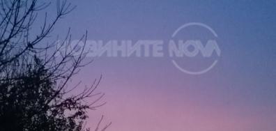 Небето рано - преди мъглата в Свищов