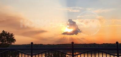 Един готин залез над Дунав