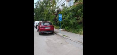 """Частен паркинг на """"инвалид"""""""