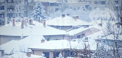 Къщички в снега се гушат!