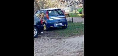 Супер нагло паркиране