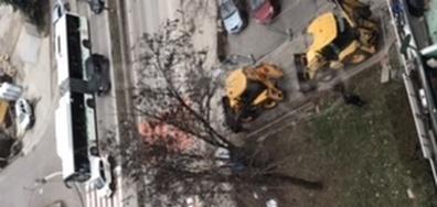 Прокопаване на улица