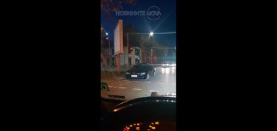 Как паркират монтанските служители на МВР?