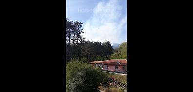 Гората над Котел отново гори на същото място от пожара преди седмица