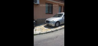 Така се паркира в Приморско