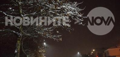 Снежна нощ в Разград