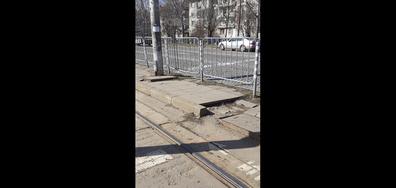 Тротоар пред 6-о РПУ София