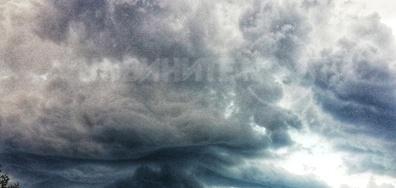 Небето над Варна