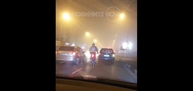 Тъп велосипедист