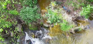 Изливане на фекалии в река Фотиновска