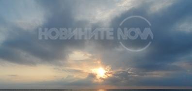 Морски изгрев в Приморско