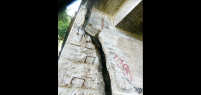 """Мостът между кв. """"Горубляне"""" и кръговото на """"Младост 4"""""""
