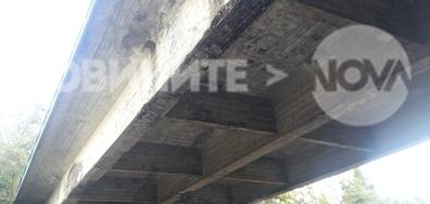 Опасен мост между Черноморец и главния път за Бургас