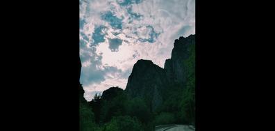 Кадър в планината в град Враца