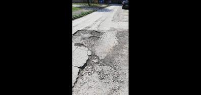 "Улица в ""Дъбника"", Варна"
