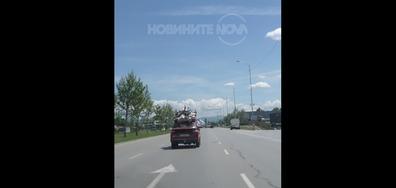 Инциденти по Ботевградско шосе...