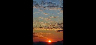 Изгревът над Монтана
