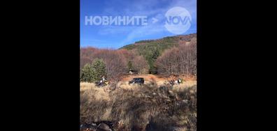 Джипове в забранена планинска зона