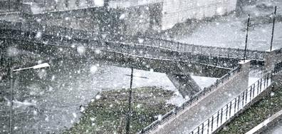 Снежна буря в Габрово