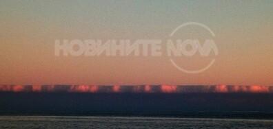 Облаци край Поморие