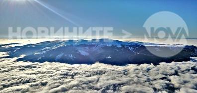 Витоша, заснета с дрон от 2200 метра височина