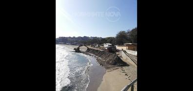 Градският плаж в Созопол