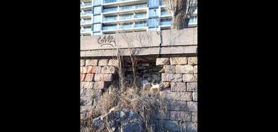 Подпорната стена на река Марица в Пловдив