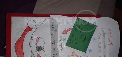 Писмо до дядо Коледа Ния на 6год.