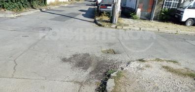 Некачествен и недовършен ремонт на улица