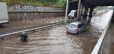 Дъжд в Русе