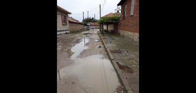 Улица в окаяно състояние