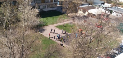 Нарушаване на забраната за посещение на детски площадки
