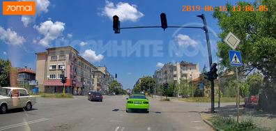 На червен светофар