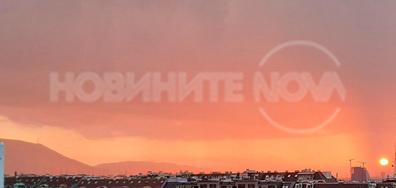 Залезът над София