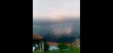 Мощна буря в Монтана