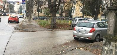 Така се паркира в Плевен