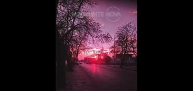 Залез в Пловдив