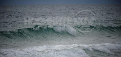 Морското вълнение в Несебър