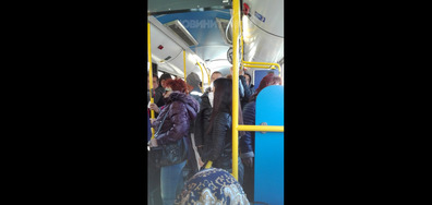 Автобус по време на извънредното положение