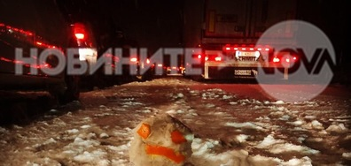 Автомагистрала Хемус - даже и Снежко е сърдит от чакане
