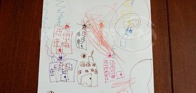 3-годишен талант със самостоятелна изложба